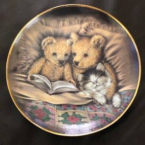 Limited Collectible Plate by The Franklin Mint